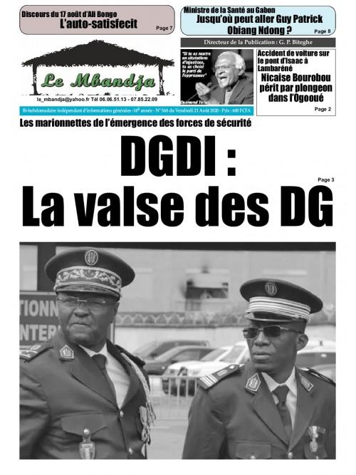 Le Mbandja 21/08/2020