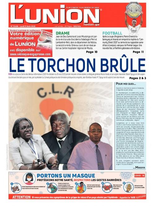 L'Union 31/08/2020
