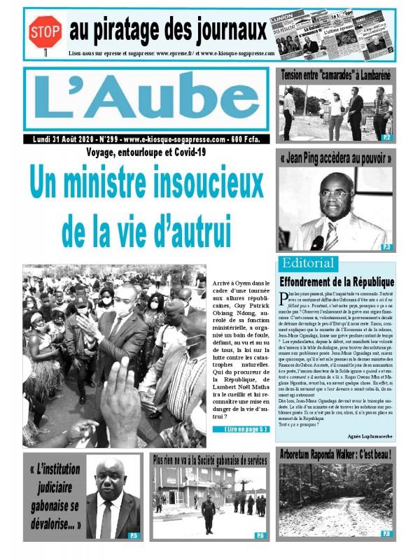 L'Aube 31/08/2020