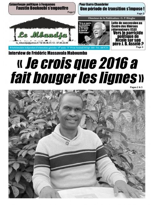 Le Mbandja 04/09/2020