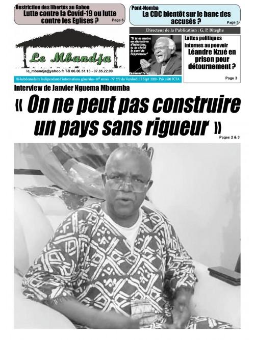 Le Mbandja 18/09/2020