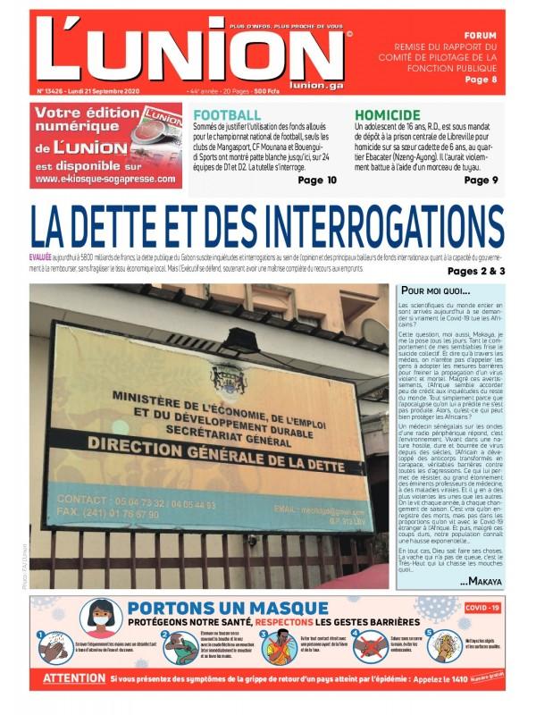 L'Union 21/09/2020