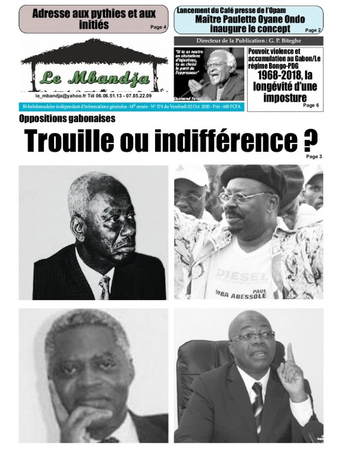 Le Mbandja 02/10/2020