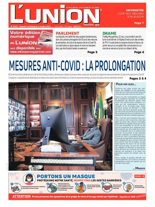L'Union 03/10/2020