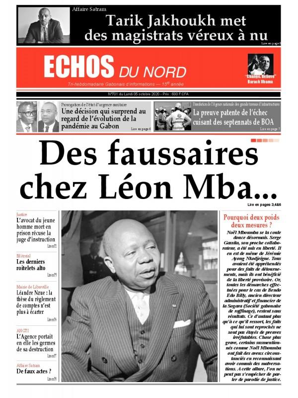 Echos du Nord 05/10/2020