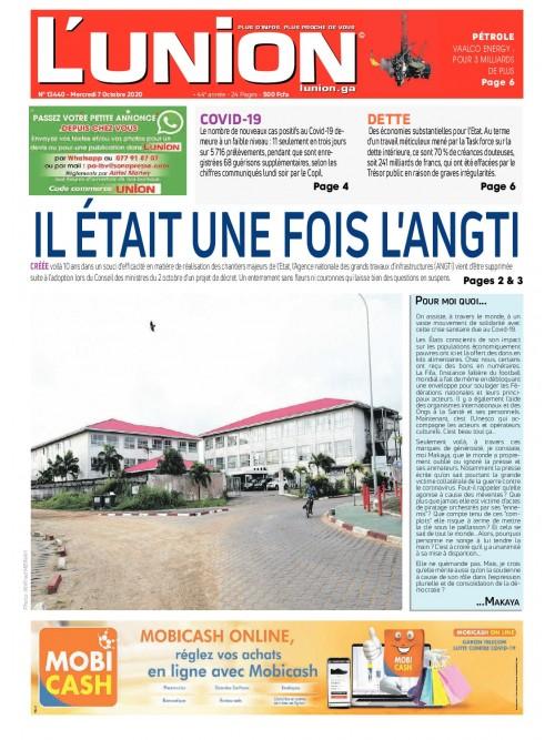 L'Union 07/10/2020