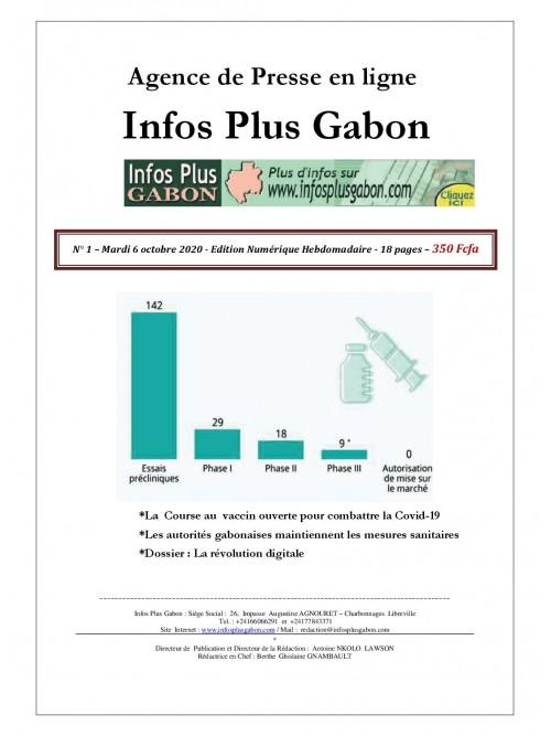 Infos Plus Gabon 06/10/2020