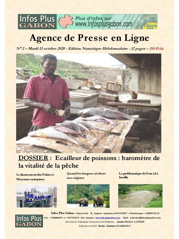 Infos Plus Gabon 13/10/2020
