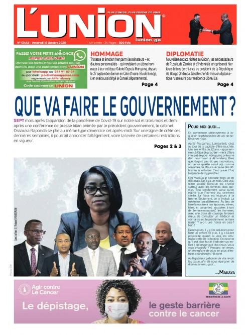 L'Union 16/10/2020