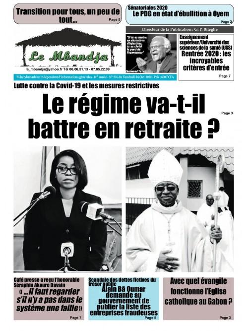 Le Mbandja 16/10/2020
