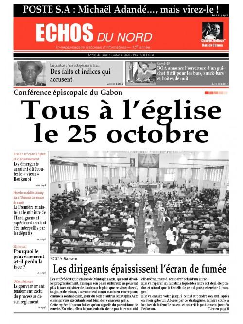 Echos du Nord 19/10/2020