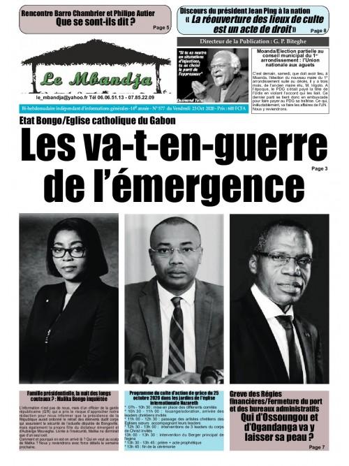 Le Mbandja 23/10/2020