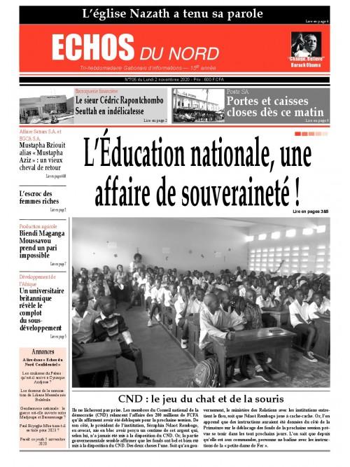 Echos du Nord 02/11/2020