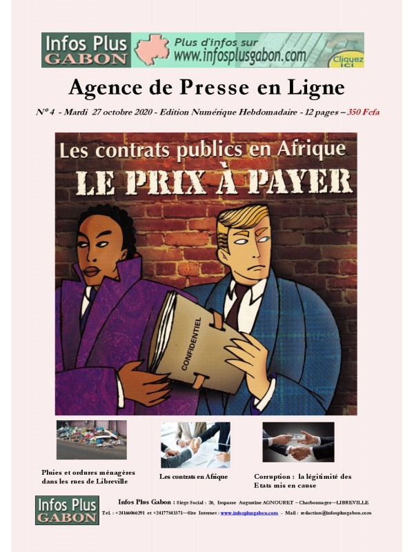 Infos Plus Gabon 27/10/2020