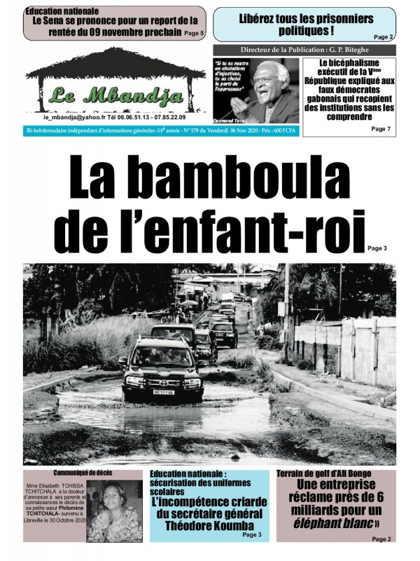 Le Mbandja 06/11/2020