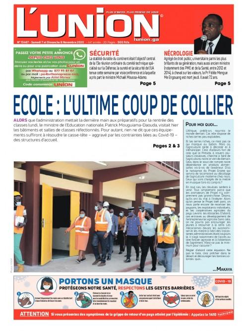 L'Union 07/11/2020