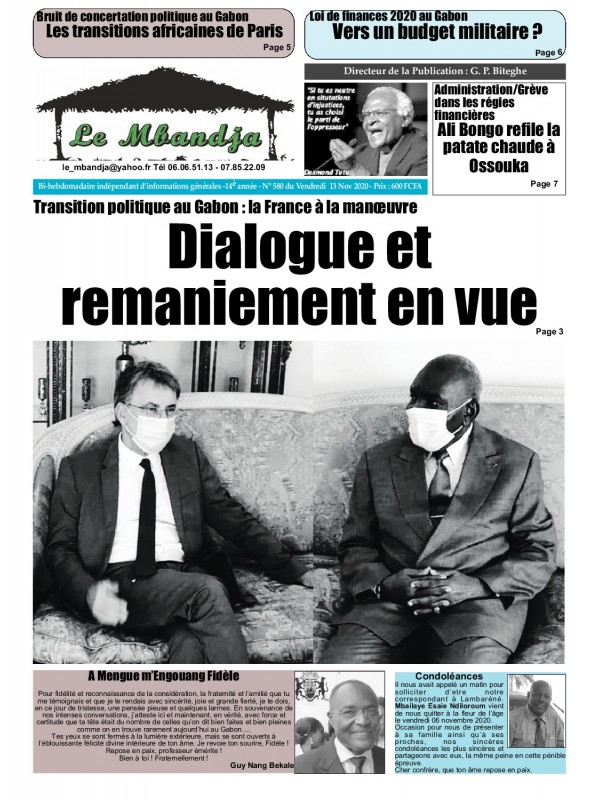 Le Mbandja 13/11/2020