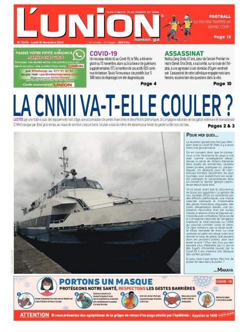 L'Union 16/11/2020