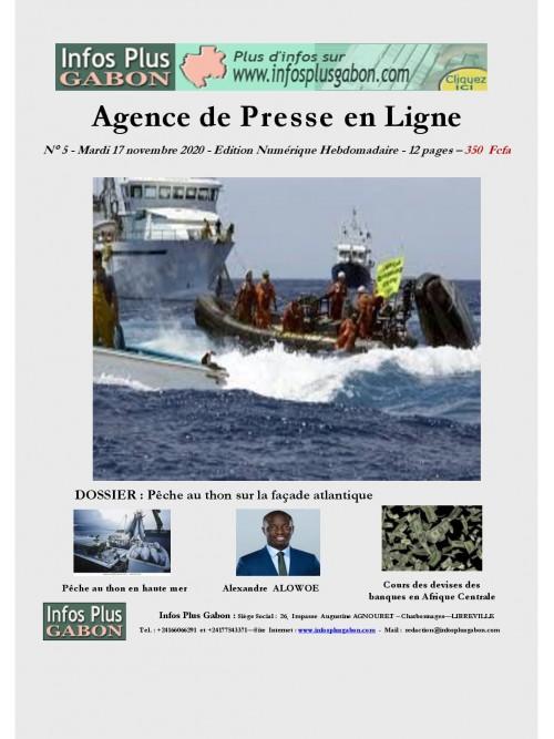 Infos Plus Gabon 17/11/2020