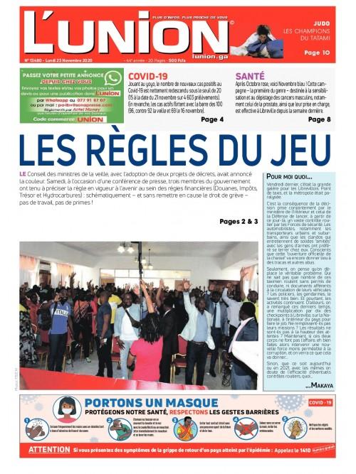 L'Union 23/11/2020
