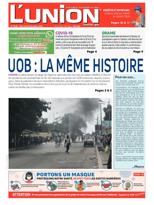 L'Union 25/11/2020
