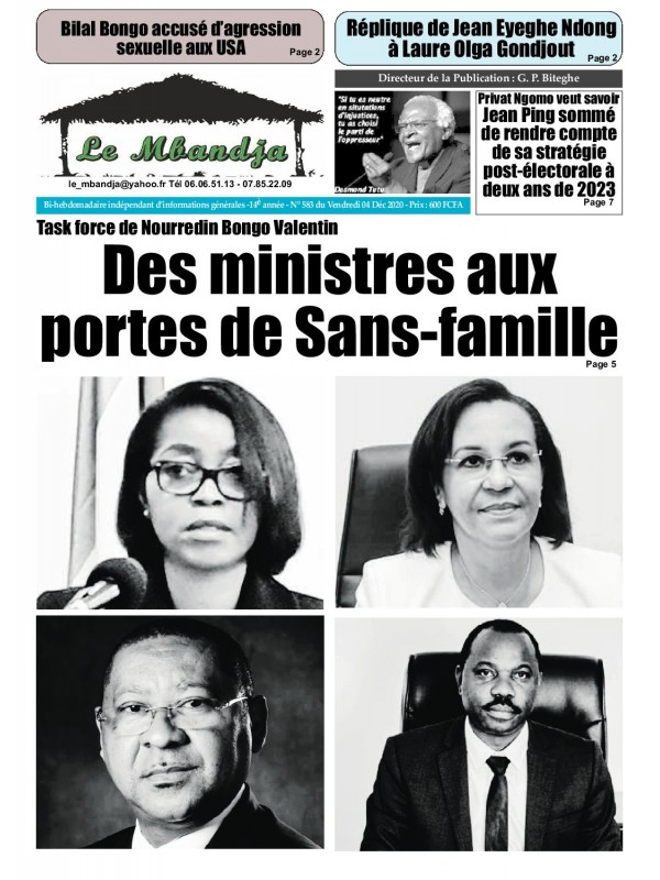 Le Mbandja 04/12/2020
