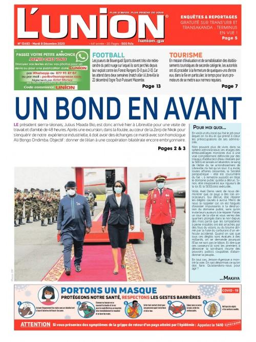 L'Union 08/12/2020