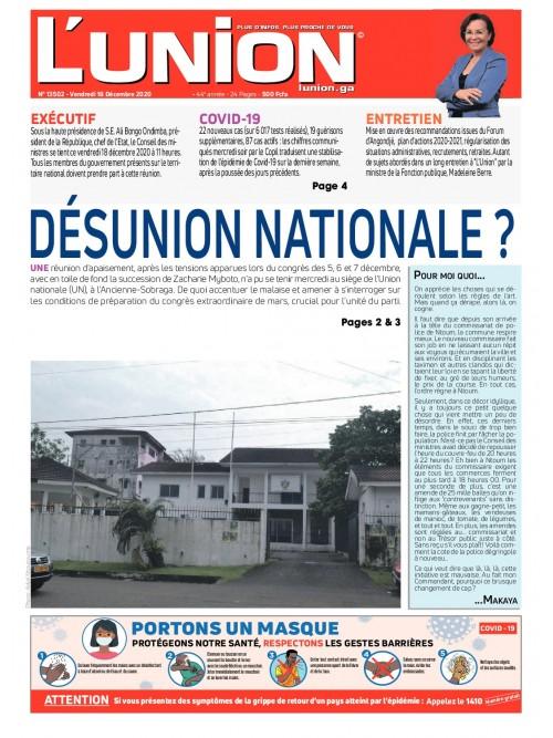 L'Union 18/12/2020