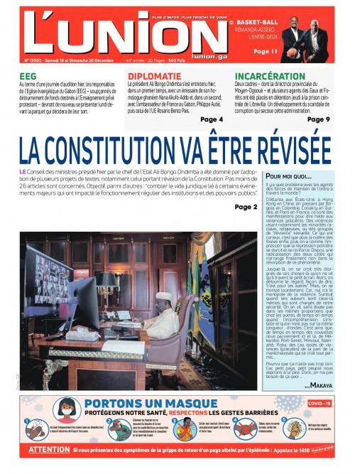 L'Union 19/12/2020