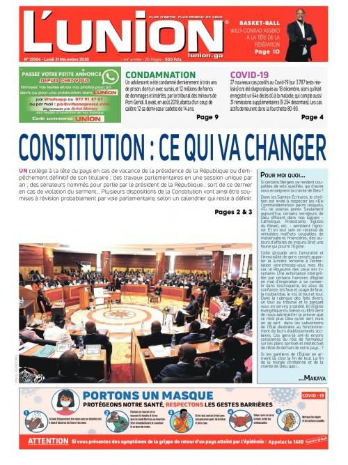 L'Union 21/12/2020