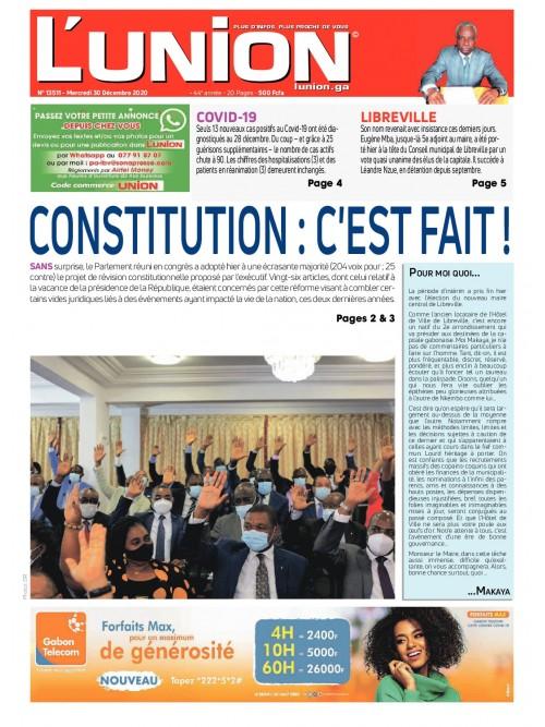 L'Union 30/12/2020