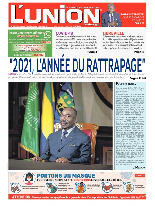L'Union 02/01/2021