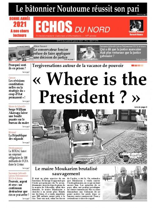 Echos du Nord 04/01/2021