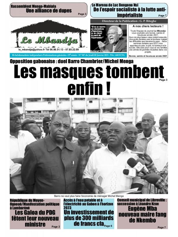 Le Mbandja 08/01/2021