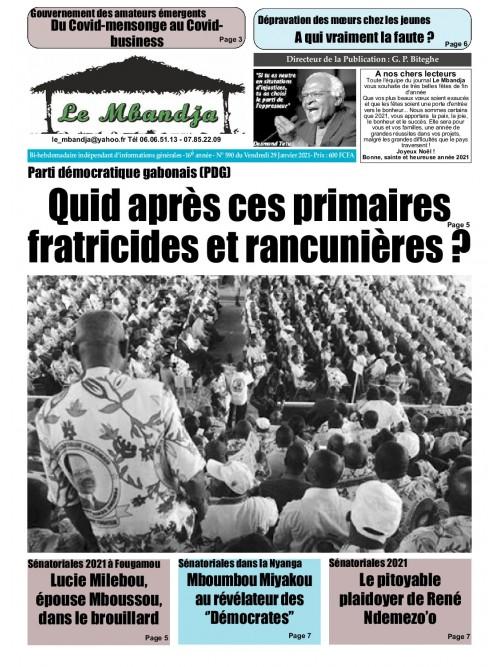Le Mbandja 29/01/2021
