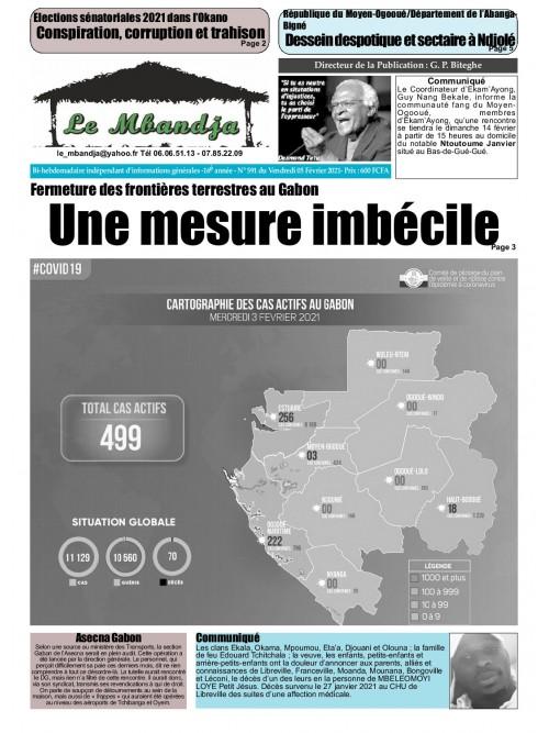 Le Mbandja 05/02/2021