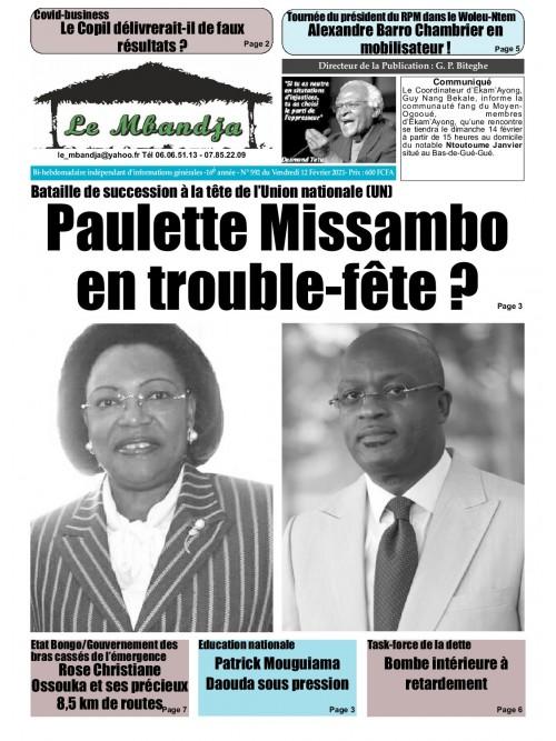 Le Mbandja 12/02/2021
