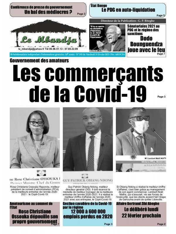 Le Mbandja 19/02/2021