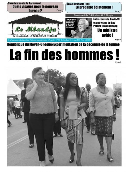 Le Mbandja 26/02/2021
