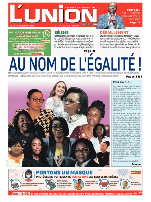 L'Union 08/03/2021