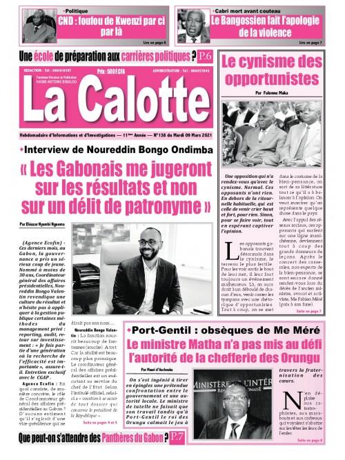 La Calotte 09/03/2021