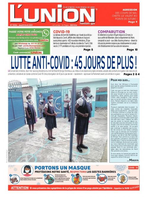 L'Union 08/04/2021