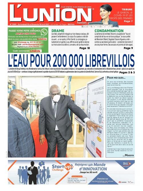 L'Union 16/04/2021