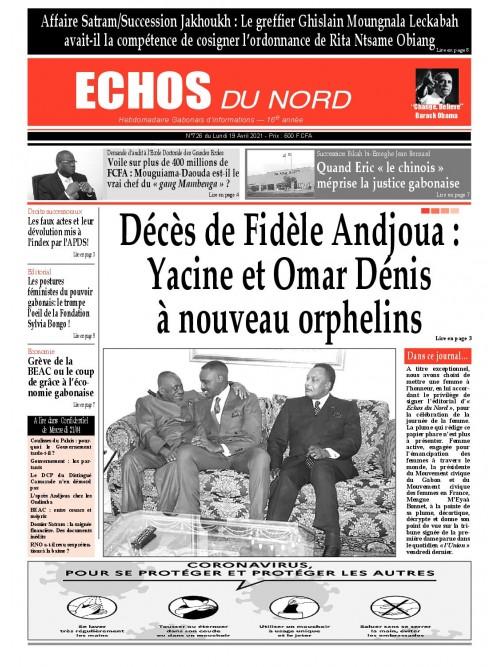 Echos du Nord 19/04/2021