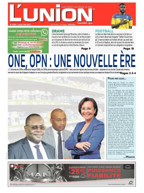 L'Union 03/05/2021