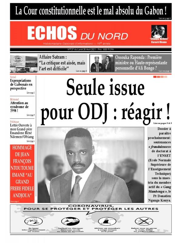 Echos du Nord 26/04/2021