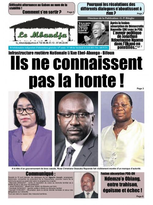 Le Mbandja 16/04/2021