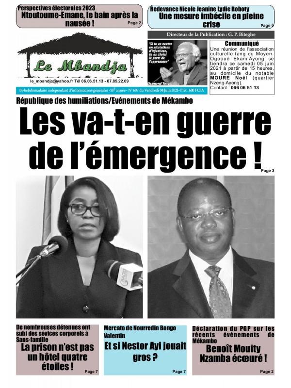 Le Mbandja 04/06/2021