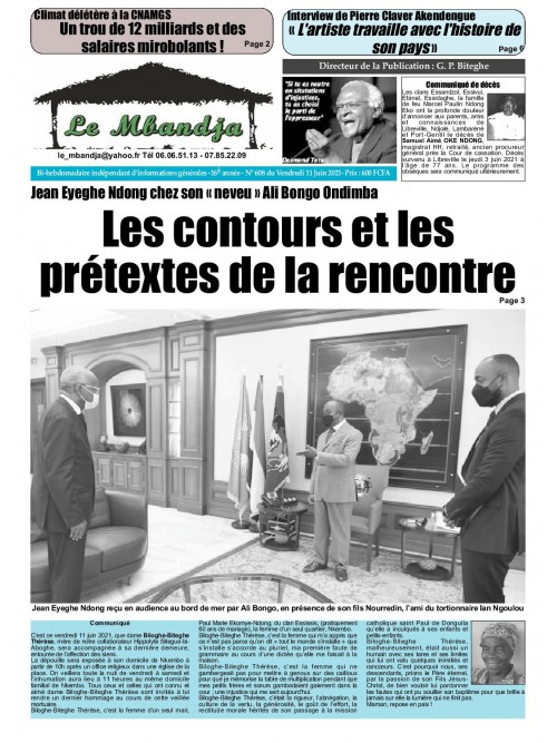 Le Mbandja 11/06/2021