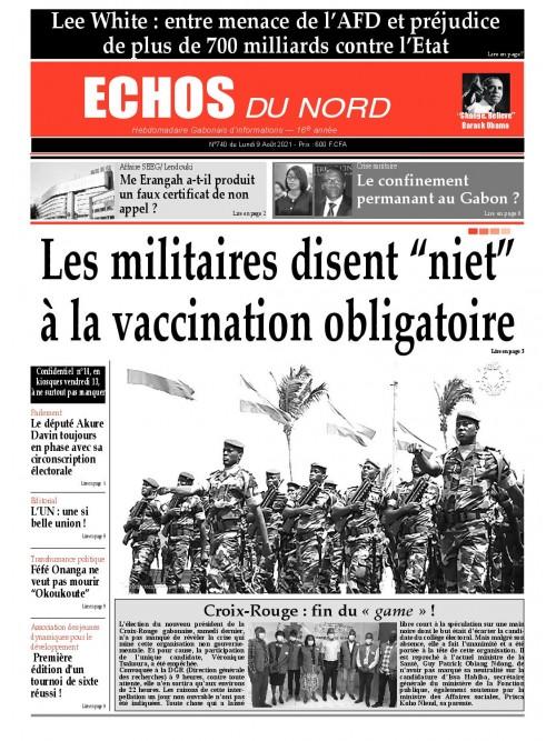 Echos du Nord 09/08/2021